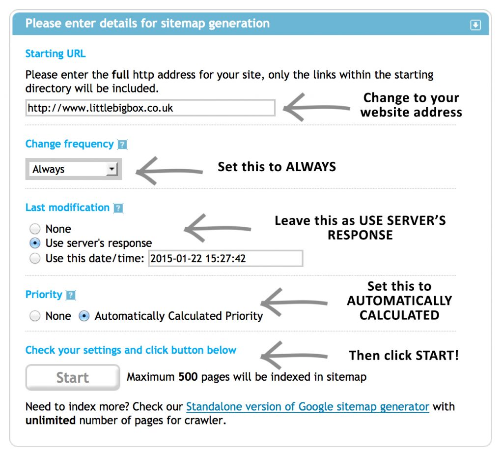 seo guide xml sitemap and google webmasters