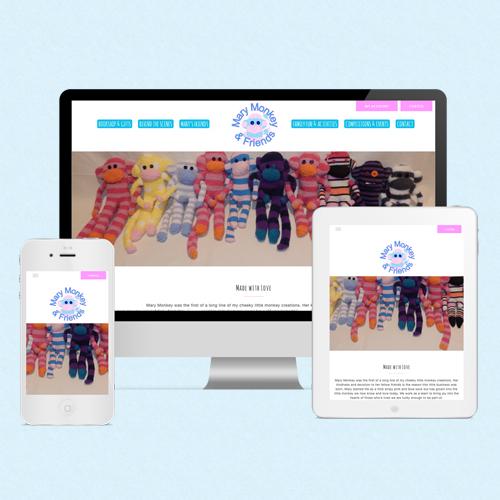 Mary Monkey eCommerce Website