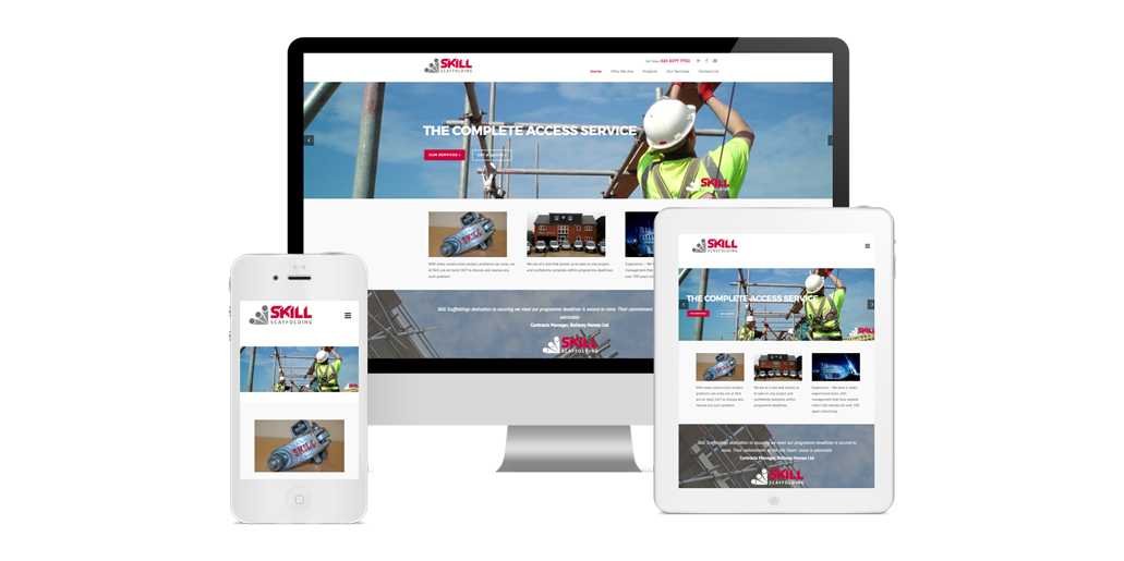 Skill Scaffolding Website Design Southampton